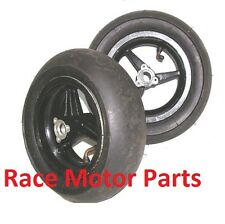 47cc 49cc mini pocket bike 90/60 - 6.5&110/50 - 6.5 Ugly Wheel Black Rims tires