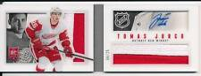 TOMAS JURCO 2013-14 PANINI PLAYBOOK 166 PRIME BOOKLET DUAL PATCH AUTO /25 RC !!