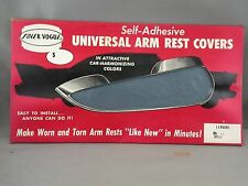 Silver Vogue Auto Seat Cover Co Arm Rest Covers NOS 1950's Car Advertising BLUE