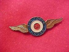 ORIGINAL WWII AUSTRALIAN MADE ANGUS COOTE SYDNEY WINGS - 1943 AIR FORCE HOUSE