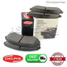 FRONT DELPHI LOCKHEED BRAKE PADS FOR FORD TRANSIT CONNECT 1.8 DI TDCI 2002-13