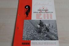 144253) Rabewerk Drehpflug - Goldammer Ammer Zwergammer - Prospekt 02/1957