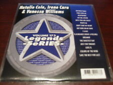 LEGENDS KARAOKE CD+G VOL 173 NATALIE COLE IRENE CARA & VANESSA WILLIAMS NEW