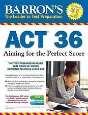 Barron's ACT 36 with CD-ROM, 3rd Edition: Aiming for the Perfect Score