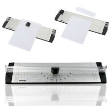 NEW A4 Precision Photo Rotary Paper Cutter Guillotine Trimmer Arts Crafts Home