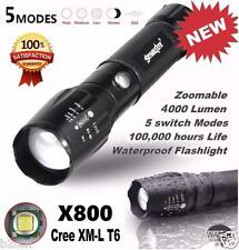 5000LM G700 Tactical LED Flashlight X800 Zoom Super Bright Military Light Torch