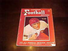 1945 Illustrated Football Annual Football Magazine Bob Hackett Ohio State Cover