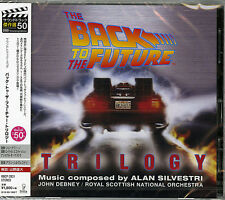 OST (MUSIC BY ALAN SILVESTRI)-THE BACK TO THE FUTURE TRILOGY -JAPAN CD D73