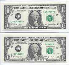 2 - 2003 *Star* Notes - Low Consecutive Serial #'s with Alignment Errors - Cu