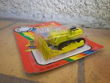 YATMING Fast wheel vintage BULL DOZER jaune échelle 1/87 Neuf blister scellé