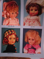 8pg Vogue Early Doll History Doll Magazine Article/Make Up/Dora Lee/Just Me++