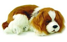 Perfect Petzzz Cavalier King Charles Plush battery powered breathing toy