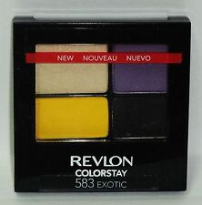 1 Revlon Color Stay 16 Hour Quad Eye Shadow In Sealed Compact EXOTIC #583