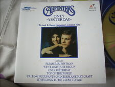 a941981  VCD Carpenters Best Only Yesterday