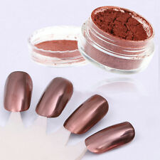 Rose Gold Silver Nail Art Mirror Powder Nails Glitter Chrome Powder Decoration