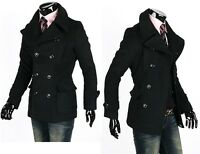 Men Winter Fashion Slim Fit Trench Coat Jacket