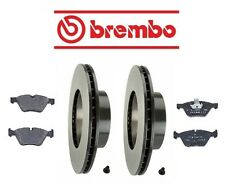 BMW E90 E91 E92 328xi 2007 Front Disc Rotors & Pads Brake KIT Brembo/Textar