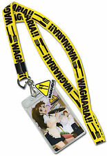 Wagnaria Lanyard with card holder and charm ~ Officially Licensed ~ BRAND NEW