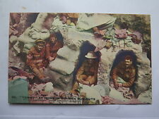 WORLD WAR I POSTCARD DAILY MAIL OFFICIAL WAR BATTLE PICTURES GERMAN DUGOUTS 20