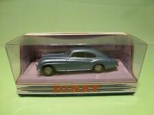 DINKY TOYS DY13 BENTLEY R CONTINENTAL 1955  - BLUE 1:43 - GOOD CONDITION  BOX