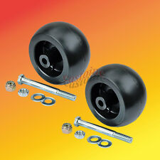 2 Deck Wheel Kits Anti-Scalp 13445 Fits Hustler # Super Z. Mini Z, Fast Track