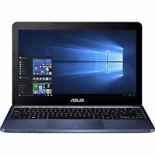 "New Asus 11.6"" Laptop 2GB RAM,32GB HD,Windows 10,Bluetooth,HDMI,Webcam,WiFi,Blue"