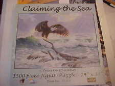 Claiming the Sea 1500 piece Jigsaw Puzzle EAGLE OCEAN