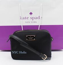 NEW Kate Spade Blake Avenue Mindy Small Crossbody Shoulder Bag Nylon Black