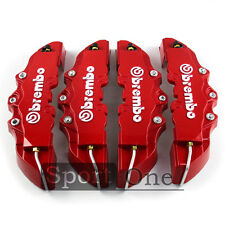 4pcs 3D Brembo Style Disc Brake Caliper Cover Red for Holden UTE VECTRA VU VY