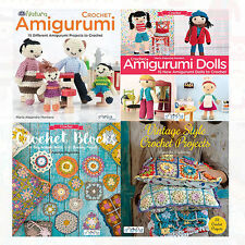 Crochet Collection 4 Books Set Crochet Blocks,Crochet Amigurumi,Dolls NEW BRAND