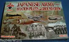 REDBOX 72052 WW2 JAPANESE ARMY AVIATION PILOTS & GROUNDCREW 1/72