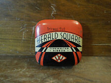 Vintage Herald Square Type Writer Ribbon Metal Tin From F.W. Woolworth Co.