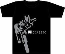 ISRAEL ARMY T-SHIRT ISRAEL MILITARY  IDF shirt - CLASSIC UZI SHIRT - UZI DOES IT