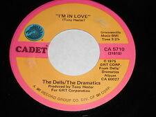 The Dells/Dramatics: I'm In Love / Love Is Missing From Our Lives 45 - Soul