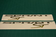 Triumph 955i Sprint ST Fairing Replacement Decals Stickers