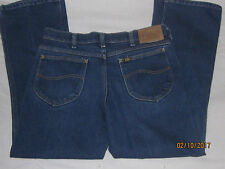 VINTAGE LEE RIDERS JEANS 34 X 30 UNION MADE USA WORK JEANS ----RARE----