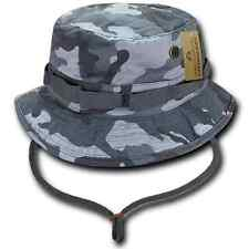 ACU Camouflage OD Camo Boonie Bucket Military Fishing Hunting Hat Hats Caps Cap