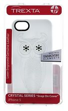 Trexta Genuine Leather Crystal SERIE iPhone 5s/5/se custodia/coperchio bianco swarovski