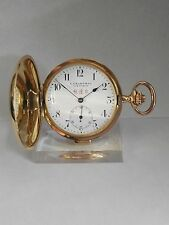 pocket watch sonnerie repetition repeater minute  gold  18k