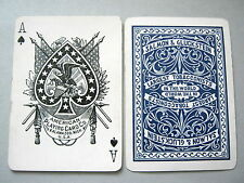 PLAYING CARDS ANTIQUE WIDE APCC KALAMAZOO FOR SALMON & GLUCKSTEIN TOBACCONISTS