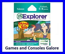 NEW! Leap Pad / Leapster Explorer LeapPad Game Phineas and Ferb Leapfrog