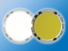 POWER LED Rund Ø 40,5mm Tageslicht Weiß 5500K Direktbetrieb an 12VDC