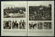 Royal Calpe Hunt Marquis Of Marzales Guadacorte 1932 2 Page Photo Article 6520