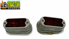 Pair of Fordson Major Rear Tail / Brake Lights