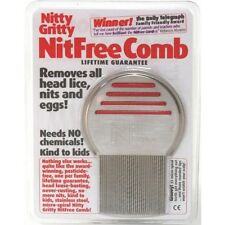 Nitty Gritty NitFree Comb Removes Head Lice Nits & Eggs