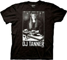 New DJ Tanner Full House Adult Medium Black Cotton Funny 90s TV Show T-shirt