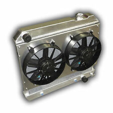 THE BEST Chevy Truck Pickup C10 Aluminum ECP Radiator 1963 - 1966 DUAL FANS!