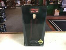 "Sideshow Star Wars EXCLUSIVE CHANCELLOR PALPATINE #2126 12"" 1/6 Figure MIB"