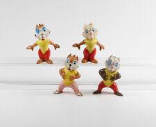 Chip & Chap Dale === A- + B- Hörnchen 4 Figuren Heimo