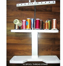 SEWING MACHINES EASY ACCESS TO 10 SPOOL EMBROIDERY MACHINE THREAD/COTTON STAND